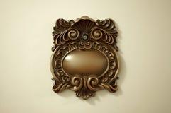 Elegant Victorian Peep Hole. On a Door Royalty Free Stock Photography