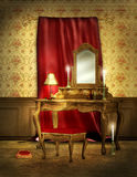 Elegant Victorian room Stock Photo