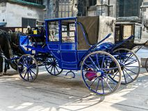 Viennesse  Carriages. Elegant Viennesse Carriages, Vienna, Austria Stock Photography