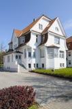 Elegant villa royalty free stock photo