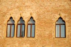Elegant villa var pastorliven av Casalserugo en stad i landskapet av Padua i Venetoen (Italien) Fotografering för Bildbyråer