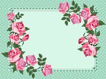 Elegant vintage background with place for your text Royalty Free Stock Images