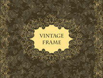 Elegant vintage card Royalty Free Stock Images