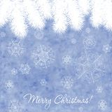 Elegant vintage christmas card Stock Images