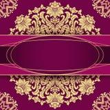 Elegant vintage floral background Stock Photo