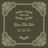 Elegant vintage frame Royalty Free Stock Photo