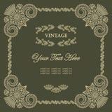 Elegant vintage frame Royalty Free Stock Photo