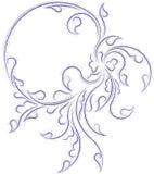 Elegant vintage frame for your design. Royalty Free Stock Image