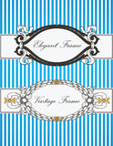 Elegant & Vintage Frames Royalty Free Stock Photos