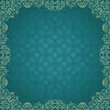 Elegant vintage square frame Royalty Free Stock Photos