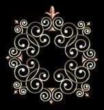 Elegant Vintage Swirl Frame Royalty Free Stock Image
