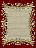 Elegant vintage Swirl Frame Royalty Free Stock Photography