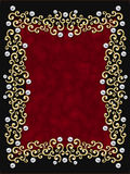 Elegant vintage Swirl Frame Royalty Free Stock Images