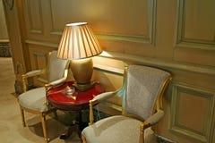 Elegant waiting area Stock Images
