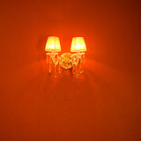Elegant wall lamp Royalty Free Stock Image