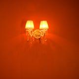 Elegant wall lamp Royalty Free Stock Image