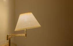 Elegant wall lamp Stock Images