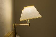 Elegant wall lamp Royalty Free Stock Photos