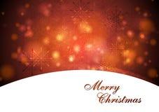 Elegant waves Christmas  design Royalty Free Stock Photo