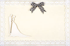 Elegant wedding card Stock Photos