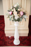 Elegant wedding decoration Royalty Free Stock Photos