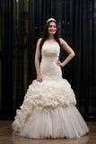 Elegant Wedding Dress Stock Photography