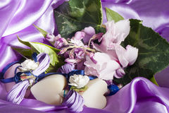 Elegant Wedding favors Royalty Free Stock Photos