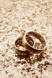Elegant wedding invitation stock photo