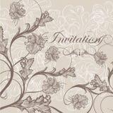 Elegant Wedding Invitation Card For Design Royalty Free Stock Images