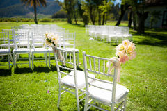 Elegant wedding reception Stock Photography