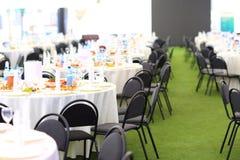 Elegant wedding reception area Royalty Free Stock Photo