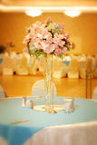 Elegant wedding setting Stock Images