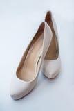 Elegant wedding shoes Royalty Free Stock Photo