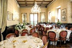 Elegant wedding venue Stock Photos