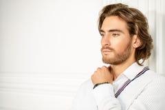 Elegant white Stock Images