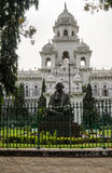 Andhra Pradesh Assembly Building, Hyderabad. Elegant white building housing the Andhra Pradesh Legislature with politicians elected to both the state's Royalty Free Stock Images
