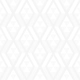 Elegant white geometric shapes seamless pattern Royalty Free Stock Images