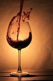 Elegant Wineglass Stock Photos
