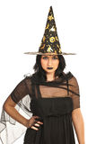 Elegant witch Royalty Free Stock Photography