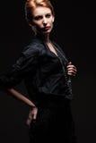 Elegant woman royalty free stock photos