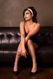 Elegant woman. royalty free stock photography