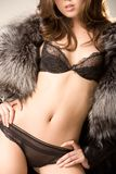 Elegant woman Royalty Free Stock Photography