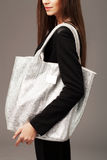Elegant woman with a fashion bag Stock Image