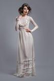 Elegant woman indoors Royalty Free Stock Photography