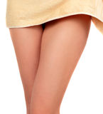 Elegant woman legs Royalty Free Stock Images