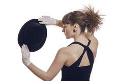 Elegant Woman Magician Stock Images