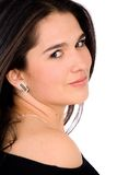 Elegant woman portrait Royalty Free Stock Image