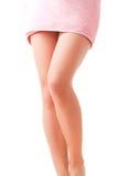 Elegant woman's legs Royalty Free Stock Images