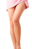 Elegant woman's legs Royalty Free Stock Images