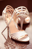 Elegant woman shoes Royalty Free Stock Photography